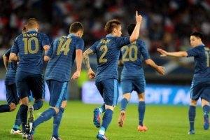 Французы уверенно разобрались с балканской сборной