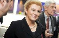 Вперше в історії Хорватії президентом стала жінка