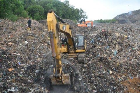 ВКривой Рог непустили фуры сльвовским мусором
