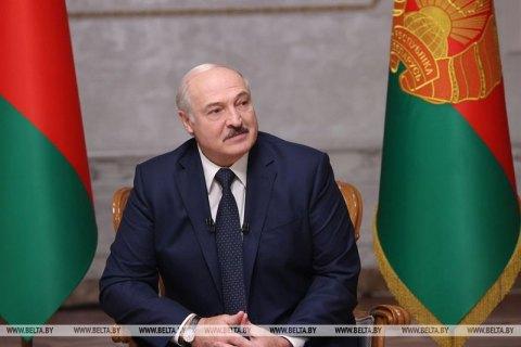 Лукашенко зібрав на інтерв'ю російські прокремлівські ЗМІ