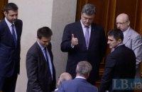 Парламентский экзамен Петра Порошенко