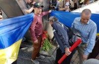 Первомайскую демонстрацию в Харькове сопровождали проукраинские активисты