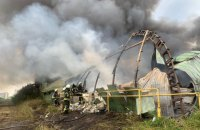 В Полтавской области сгорел самолет Ан-2, есть травмированные