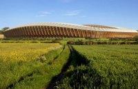 В Англії побудують повністю дерев'яний футбольний стадіон