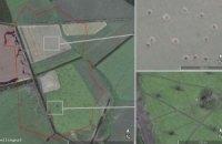 В Google Earth нашли доказательства обстрелов Украины с территории РФ