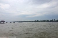 Рибалки човнами перекрили Дунай у Вилковому