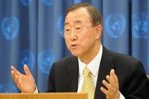 Генсек ООН закликав припинити поставки зброї до Сирії