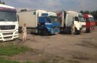 СБУ затримала в Донецькій області 120 тонн контрабанди продовольства
