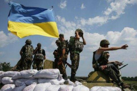 Штаб АТО зафиксировал 28 обстрелов позиций украинских военных за сутки