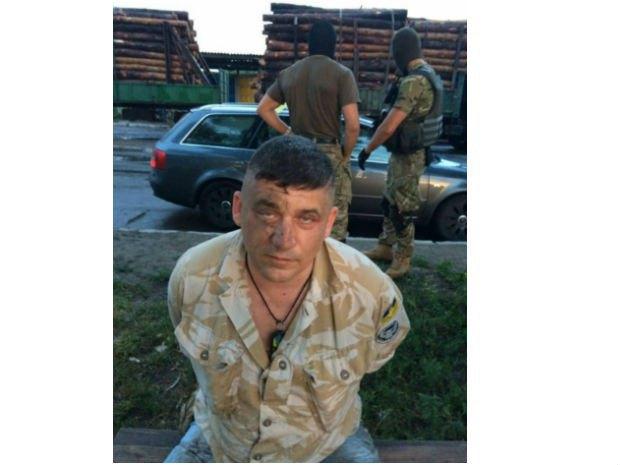 Ігор Радченко в момент арешту