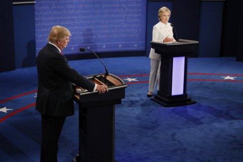 """Клінтон звинуватила Трампа в підтримці Путіна і в бажанні """"розламати НАТО"""""""