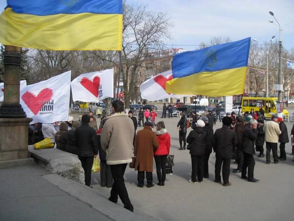 Пресс-служба БЮТ отрапортовала о 100 участниках акции