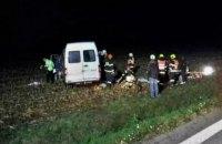 Десять украинцев пострадали в результате ДТП в Чехии