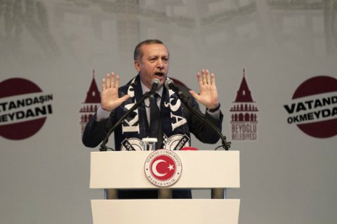 Ердоган має намір відкликати позови стосовно образи на його адресу