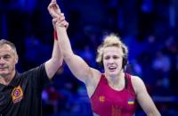 Украинская спортсменка Черкасова стала чемпионкой мира по вольной борьбе