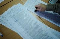 В Житомире на участке секретарь пыталась порвать протоколы