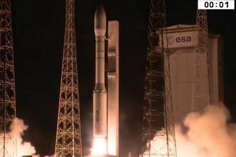 Ракета Vega з українським двигуном вивела на орбіту два супутники