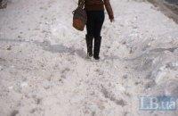 Завтра в Киеве обещают снег и мороз