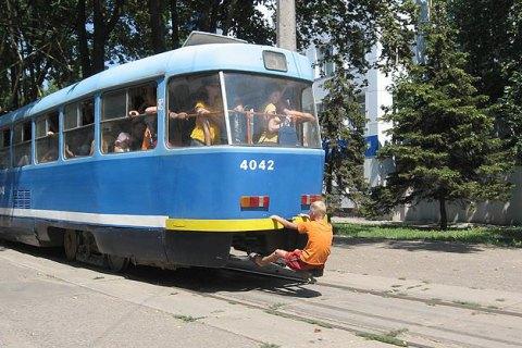 Из-за сбоя в энергосети в Одессе остановился почти весь общественный транспорт