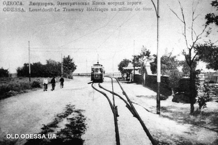 Трамвай в Люстдорфе