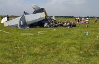 У Росії розбився літак з парашутистами, є загиблі