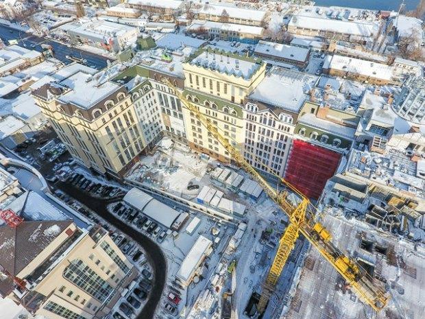 БЦ ASTARTA, ход строительства по состоянию на декабрь 2016
