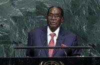 ВООЗ після хвилі критики відкликала призначення Мугабе послом доброї волі