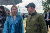 """Прем'єрка Естонії відвідала пропускний пункт """"Станиця Луганська"""""""