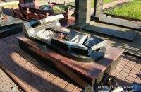 У Житомирській області розбили надгробки бійців АТО