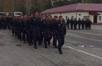 Перший батальйон Нацгвардії вирушив на передову, - Парубій