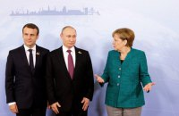 Меркель і Макрон звернулися до Путіна з вимогою звільнити моряків