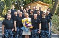 Почти всех освобожденных моряков выписали из госпиталя, - Денисова