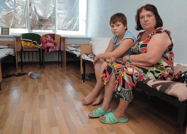Татьяна с внуком