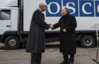 Швейцария передала жилые модули для миссии ОБСЕ на Донбассе