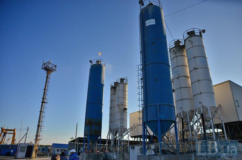 Оборудование на бетонном заводе - из Италии