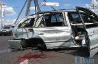 Московський міст завмер у корку через аварію з п'яним водієм