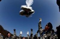 Південнокорейські активісти запустили повітряні кулі з агітками проти влади КНДР