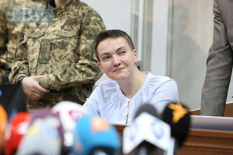 Суд перенес заседание по продлению ареста Савченко из-за неявки адвокатов