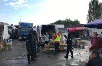 На киевском рынке задержали группу мигрантов, трое из которых оказались с инфекционным заболеванием