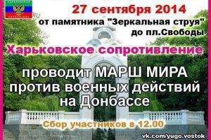 Задержанных участников харьковского марша уже отпустили