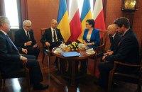 Украина подписала кредитный договор с Польшей на 100 млн евро