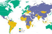 Украина сохранила позиции в рейтинге свободы слова по версии Freedom House