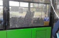 В Харькове неизвестные обстреляли троллейбус из пневматического оружия