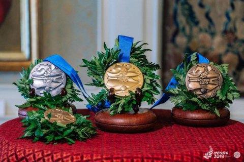 На Європейських іграх-2019 Україна здобула 11 медалей і вийшла на 3 місце