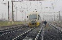 """Експрес в аеропорт """"Бориспіль"""" зійшов з колії на станції """"Дарниця"""""""