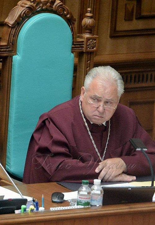 Віктор Кривенко під час засідання
