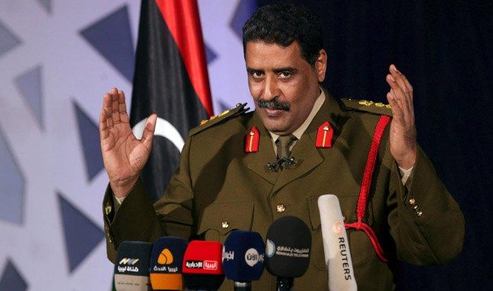 Официальный представитель Ливийской национальной армии генерал Ахмед аль-Мисмари