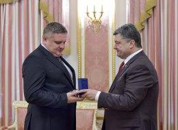 Порошенко назначил главу Горловского главка МВД врио председателя Славянской РГА