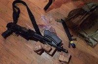 """У одного из участников событий в """"Шегинях"""" дома нашли автомат и тысячу патронов"""