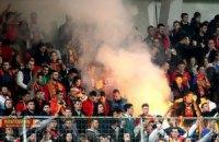Ультрас зірвали матч Росії в Чорногорії